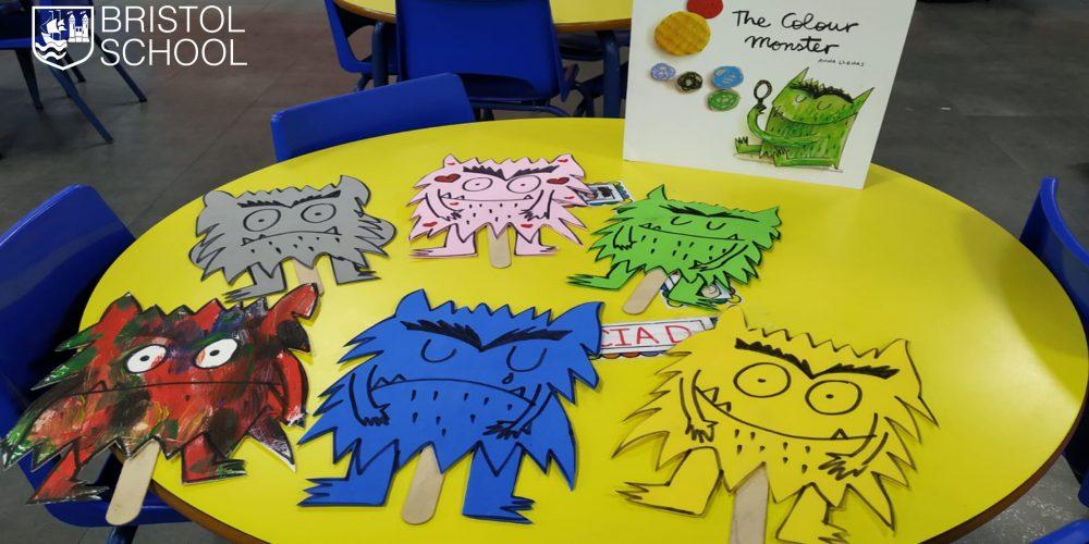 Pre-K 3 y el Monstruo de los colores