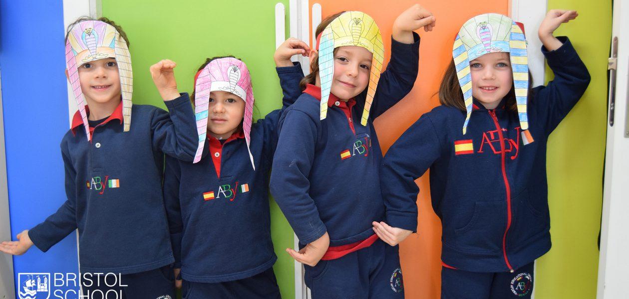 Proyecto Egipto en K-5