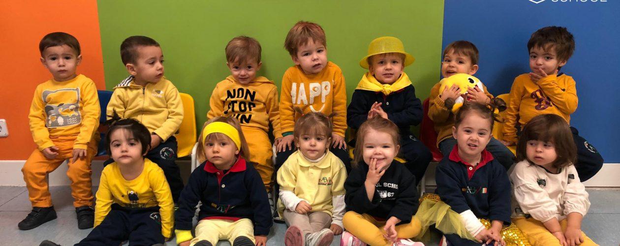 Yellow Day en Pre-K2
