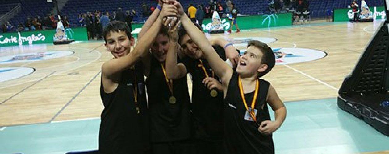 ¡Campeones del torneo escolar de baloncesto ACBNext de Madrid!