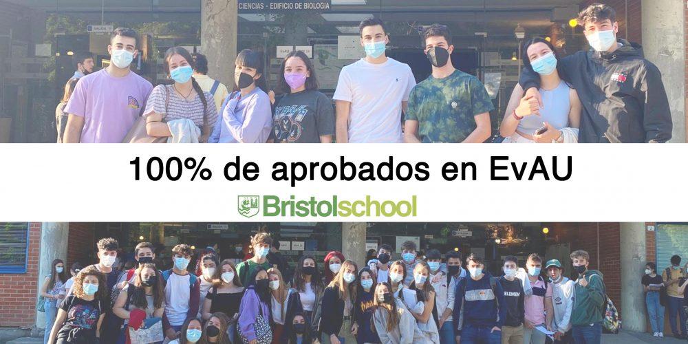 100% de aprobados en EvAU